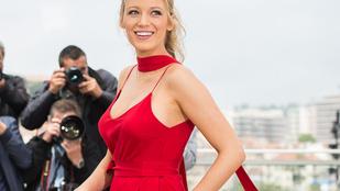Blake Lively dekoltázsa elvitte Cannes első napját