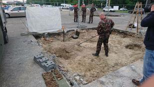 Világháborús gránátot találtak a Városligetnél