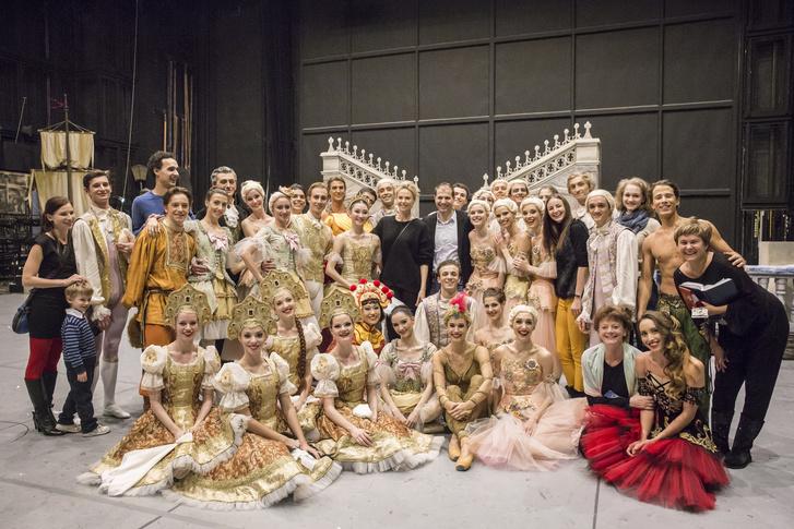 Charlize Theron és a Magyar Nemzeti Balett
