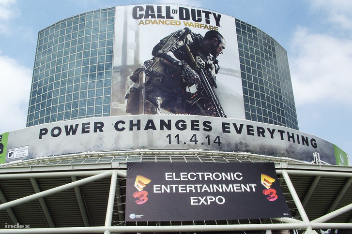Az E3 videójáték expó Los Angelesben.