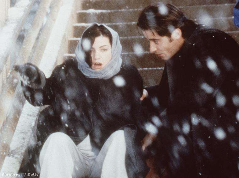 Carol Hathaway és Dr. Luka Kovac, azaz Julianna Margulies és Goran Visnjic a Vészhelyzet hatodik évadában