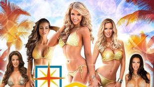 Zimány Linda újra Las Vegasban van egy halom bikinis nő közt