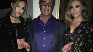 Sylvester Stallone azon kesereg, hogy felnőttek a lányai