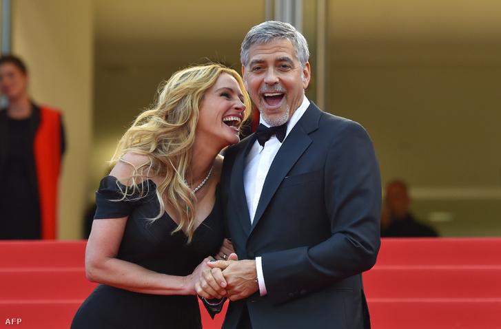 Julia Roberts és George Clooney