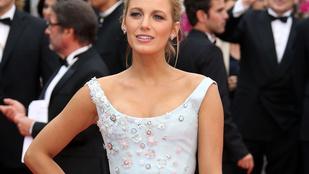 Cannes: Blake Lively a legdögösebb terhes hamupipőke evör