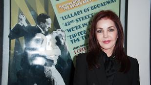 Priscilla Presley arca még mindig alkalmatlan a mosolyra