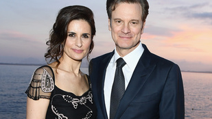 Colin Firth láthatóan sokat fogyott