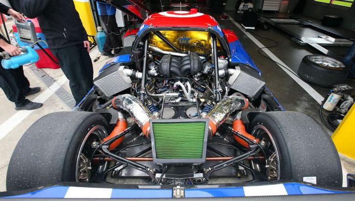 A GT V6-os EcoBoostja a Ganassi egy másik autójában