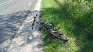 Ha bicikliről szidja az autózó haragosát, úgy járhat, mint ez az ember