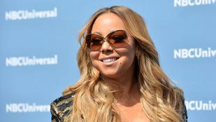 Nem csoda, hogy Mariah Carey botladozott ebben a cipőben