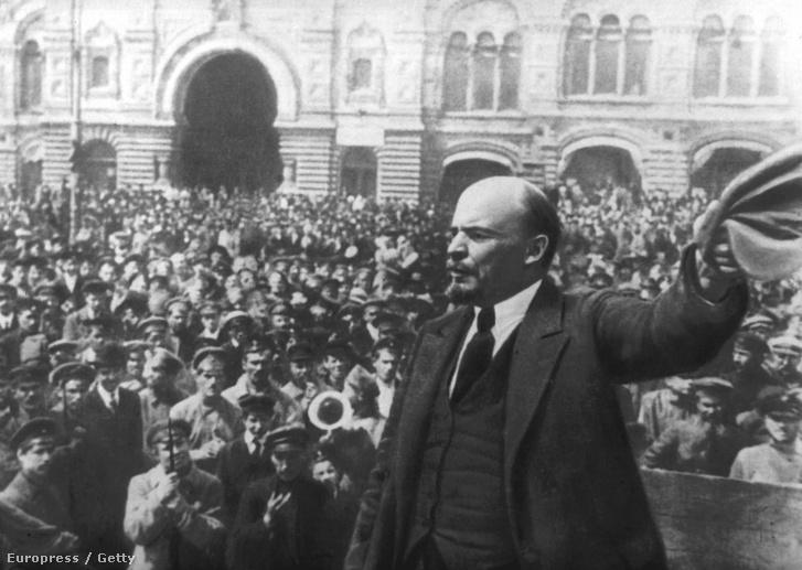 Lenin 1917 októberében