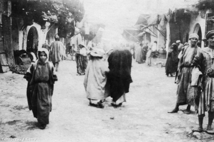 Moszuli utcakép 1918-ban