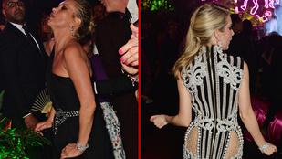 Kate Moss és a húga is látványosan jókat buliznak