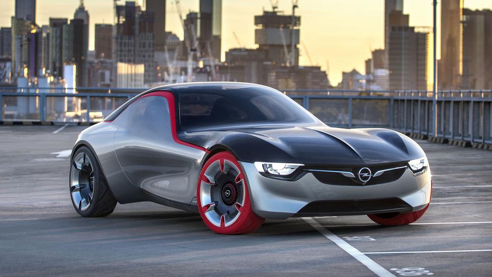 A legfrisebb Opel GT tanulmány, amely az Opel közeljövőjének a formáit vetíti előre