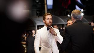 Ryan Gosling Cannes-ban készült fotói láttán be fog pisilni