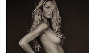 Candice Swanepoel is belépett a topless pózoló celebanyák sorába