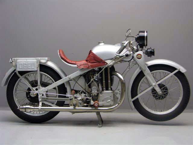 Az Opel Motoclub 500 korának egyik legszebb és legmodernebb motorja volt