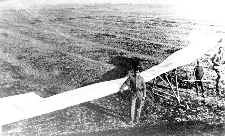 Lippisch egyik első terve, a csupaszárny vitorlázógép