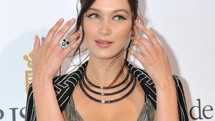 Bella Hadid dekoltázsa vitte el az eddigi legpuccosabb Cannes-i bulit
