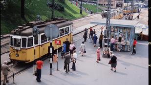 Még a Fortepanon sem láthatta ezeket a színes fotókat a régi Budapestről