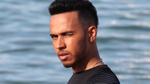 Nahát, látta már Lewis Hamiltont edzeni?