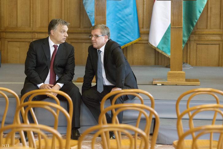 Orbán Viktor és Matolcsy György