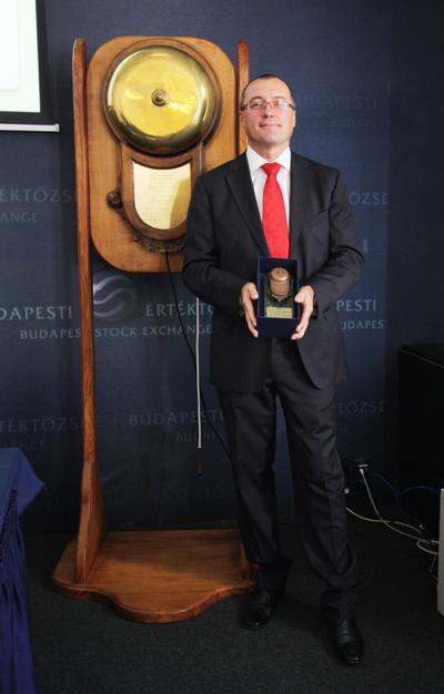 Kulcsár Tibor, a Kulcs-Soft Számítástechnikai Zrt.elnök-vezérigazgatója