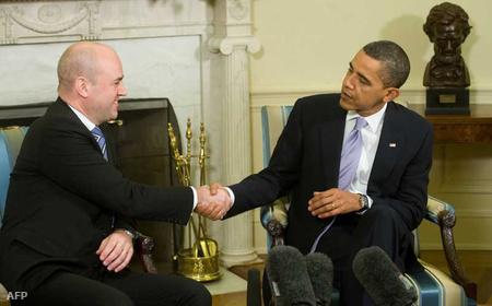 Reinfeldt és Obama