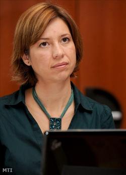 Alexa Noémi, a Transparency International Magyarország ügyvezető igazgatója