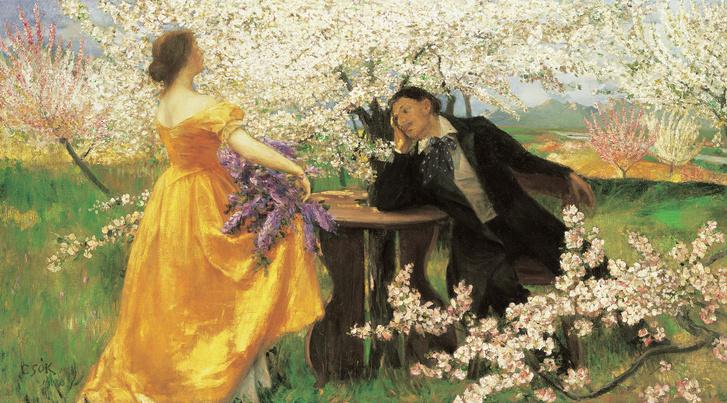 Csók István: A Tavasz ébredése