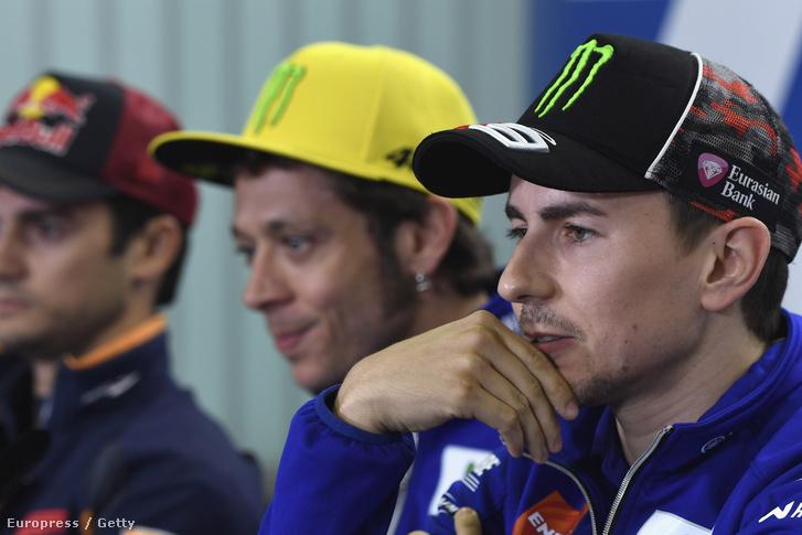 Lorenzo, Rossi és Dani Pedrosa Mugellóban