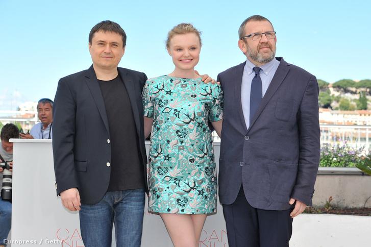 Cristian Mungiu Maria Dragus és Adrian Titieni