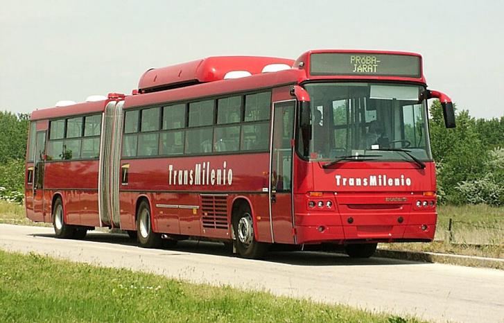 Ilyenek lesznek Ecuador első BRT buszai