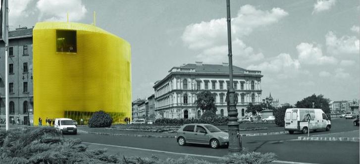 A városi panorámát csak camera obscura segítségével láthatták volna a vendégek
