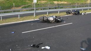 Halálos motorbaleset Zalacsánynál