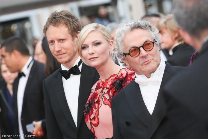 Nemes Jeles László, Kirsten Dunst és George Miller - három arc a cannes-i zsűriből