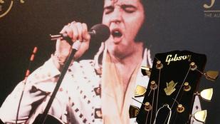 Elvis Presley gitárja 93,7 millió forintért kelt el
