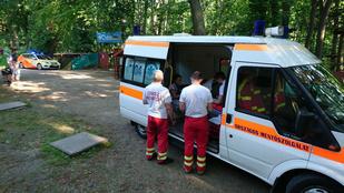 13 kisgyerek sérült meg a csillebérci kalandparkban