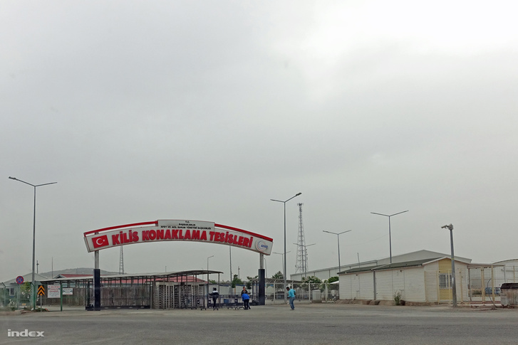 Menekült tábor a török-szír határon