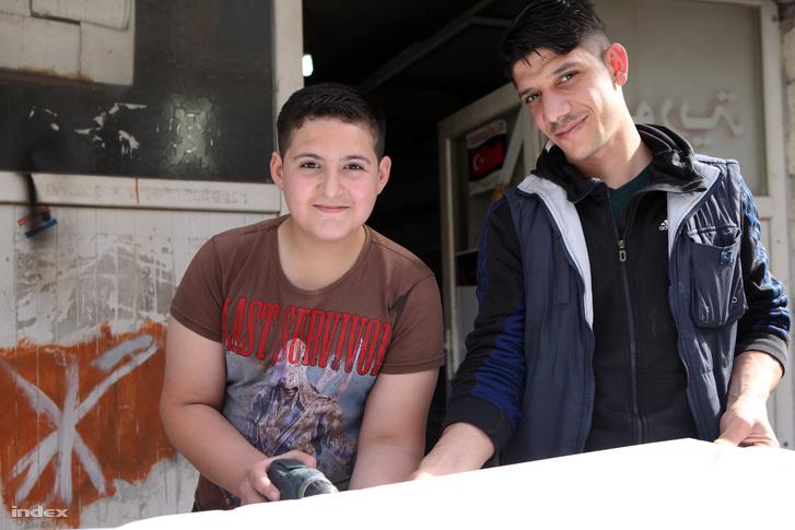 Gyerekmunkás Gaziantepben