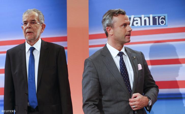 Alexander Van der Bellen és Norbert Hofer