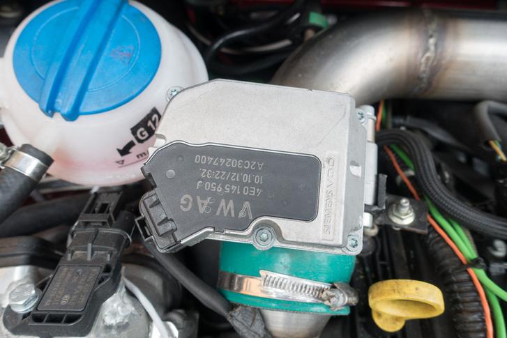 Hopp, milyen kicsi a világ, egy elektronikai elem a VW-től