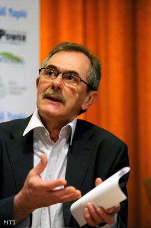 Solténszky Tibor a XIII. Pécsi Országos Színházi Találkozón, 2013-ban