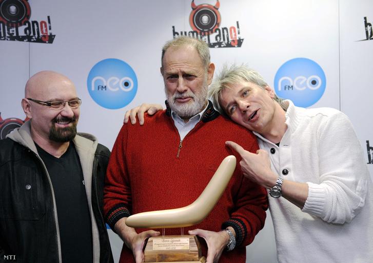 Voga János, Boros Lajos és Bochkor Gábor 2012-ben