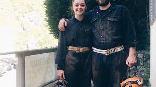 Arya Stark felettébb hasonlít a testvérére