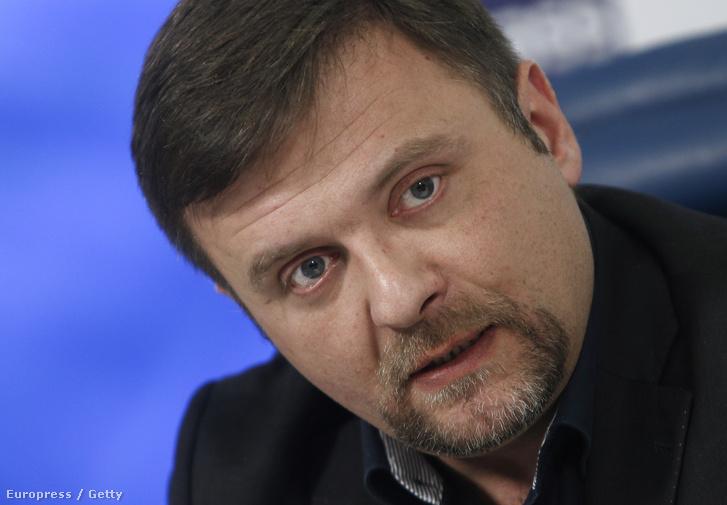 Mateusz Piskorski egy moszkvai konferencián, 2016. január 25-én