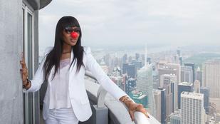 Naomi Campbell így csinált magából bohócot az Empire State Building tetején