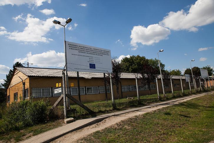A bicskei menekülttábor