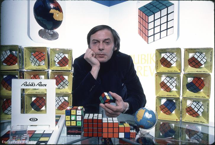Rubik Ernő és a híres kocka