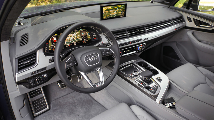 Egy rossz szavunk nem lehet az Audi-beltérre